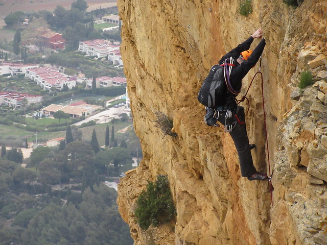 Klettern am Cap Canaille
