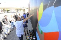 Prefeito visita artistas do programa Gentileza no Bairro Cachoeirinha