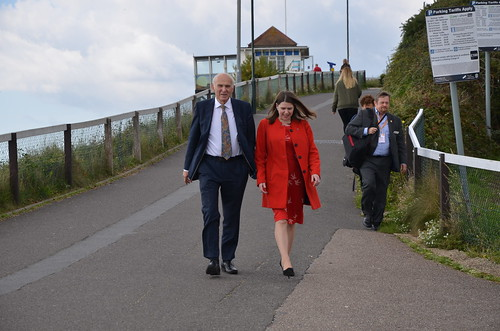 Vince Cable arrives for conference speech Sept 17 (2)