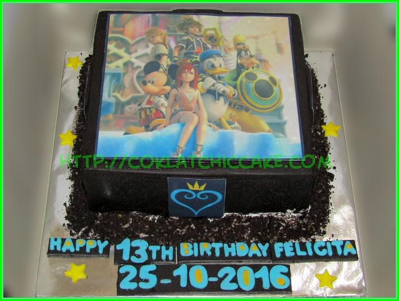 cake kingdom Heart Felicita