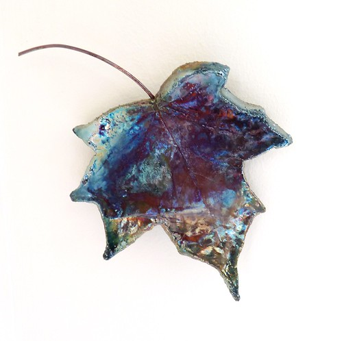 ceramic leaf wall art