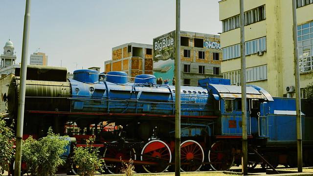 Un tirage à la mesure de l'état de la ville. Mais tout sera mieux bientôt, La Grande Bleue à Belgrade...