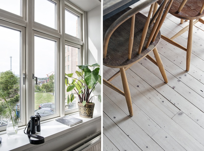Simple Swedish Home With Warm Tones