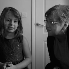 Ruth and Ava, great grandchild