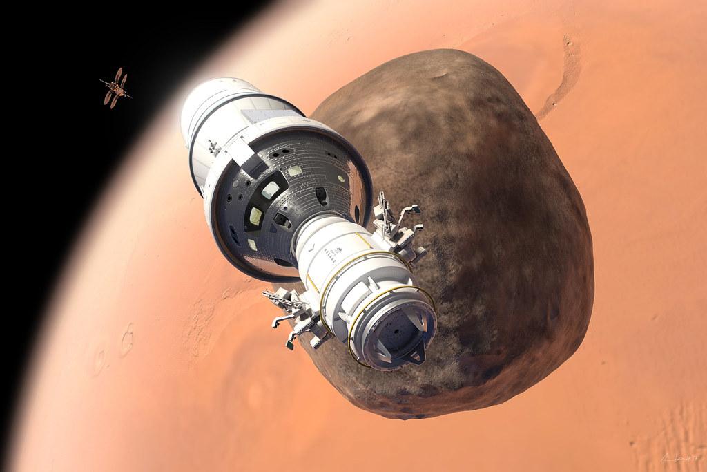 Mars Base Camp Excursion Module
