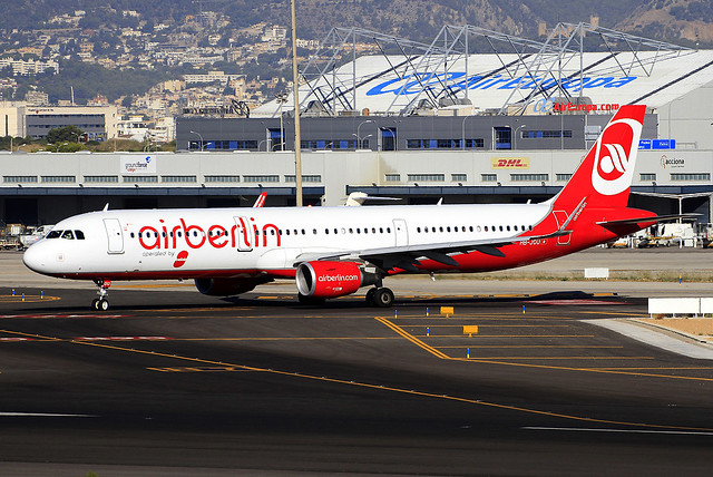 HB-JOU. A-321. Air Berlin (Belair). PMI.
