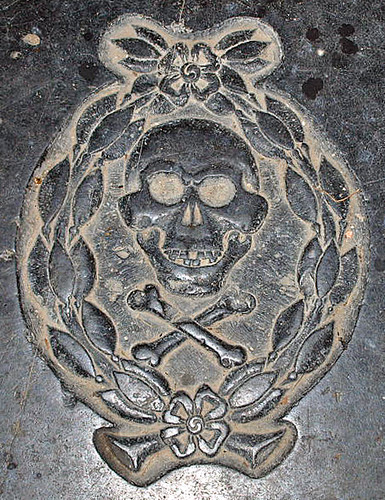 Stephen Hartly 1664 skull
