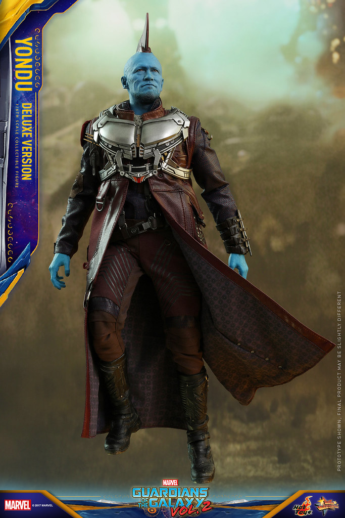 Hot Toys - MMS436 - 《星際異攻隊2》1/6 比例【勇度 豪華版】Guardians of the Galaxy Vol.2 Yondu (Deluxe Version)