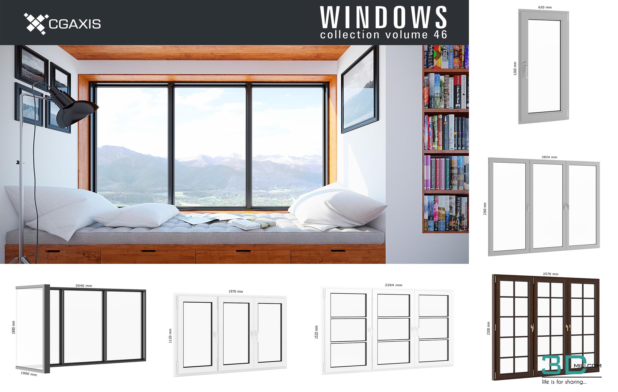 Cgaxis Models Volume 46 3d Windows 3d Mili Download 3d