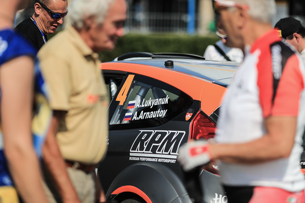 04 LUKYANUK Alexey (RUS) ARNAUTOV Alexey (RUS) Ford Fiesta R5 ambience ilustration during the 2017 European Rally Championship ERC Barum rally,  from August 25 to 27, at Zlin, Czech Republic - Photo Jorge Cunha / DPPI