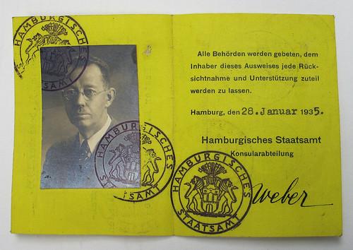Schnare German ID card
