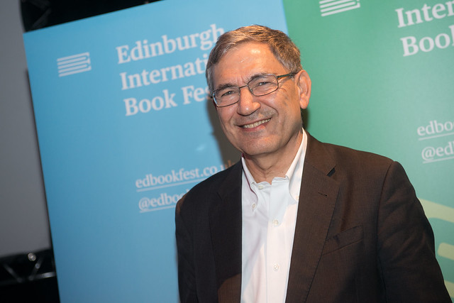 2017 Orhan Pamuk. Part of Booked! The Edinburgh International Book Festival on the road