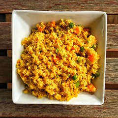 Vegetable Curry Couscous