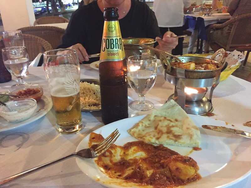 Indian Food at Spice of India in Cala d'Or (Mallorca, Spain)