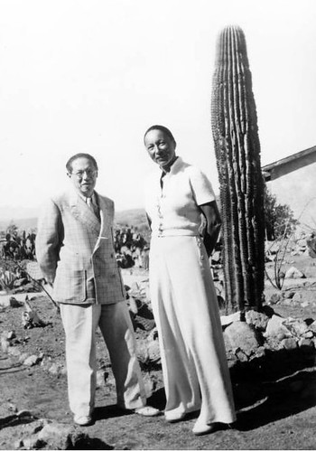 Lion e Marta Feuchtwanger in Messico 1941
