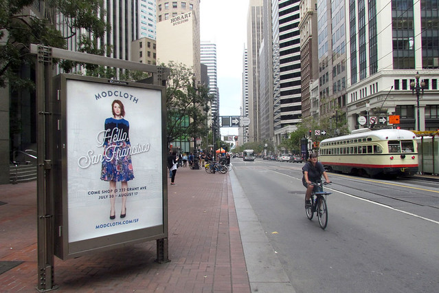 Billboards Provide a Fashion Show – 24/7