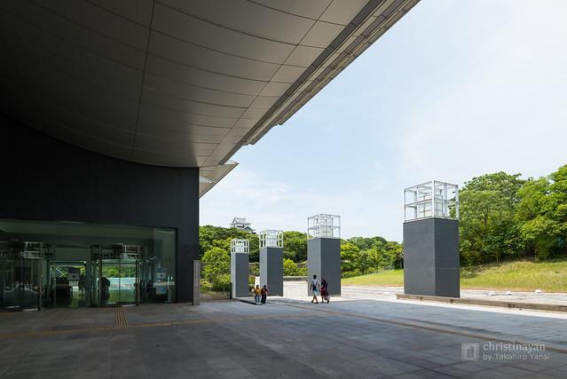 Exterior of The Museum of Modern Art Wakayama, Wakayama Prefectural Museum (和歌山県立近代美術館)