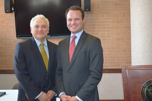 "Institute for Legislative and Governmental Affairs: Senator Eric Lesser ""Roles the States Play in the Trump Era"