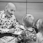 Nick Sharratt book signing | © Cindy-Lou Ramsay