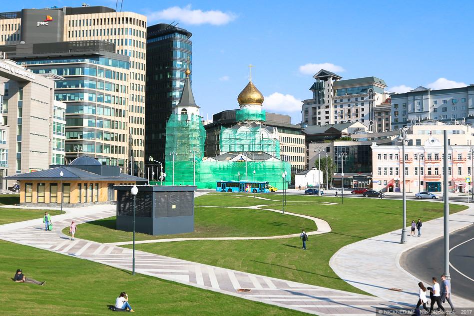 Площадь у Белорусского вокзала просто не узнать! IMG_4276