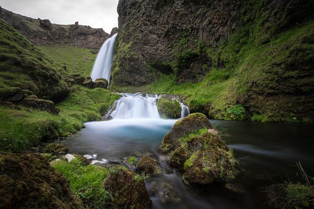 The Falls of Seljalandsfoss