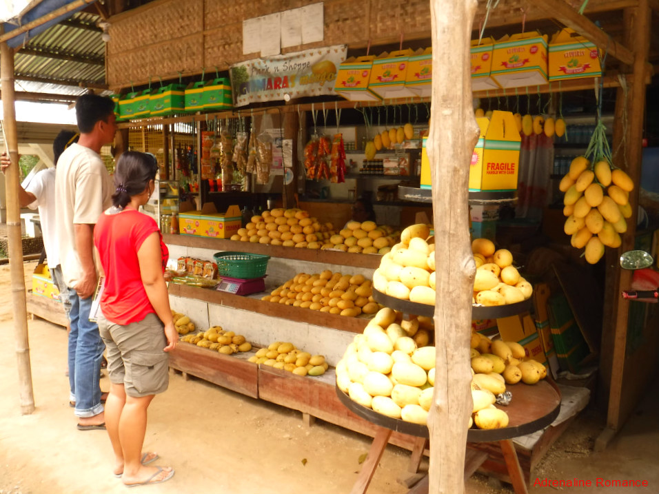 Mango Stall in Guimaras