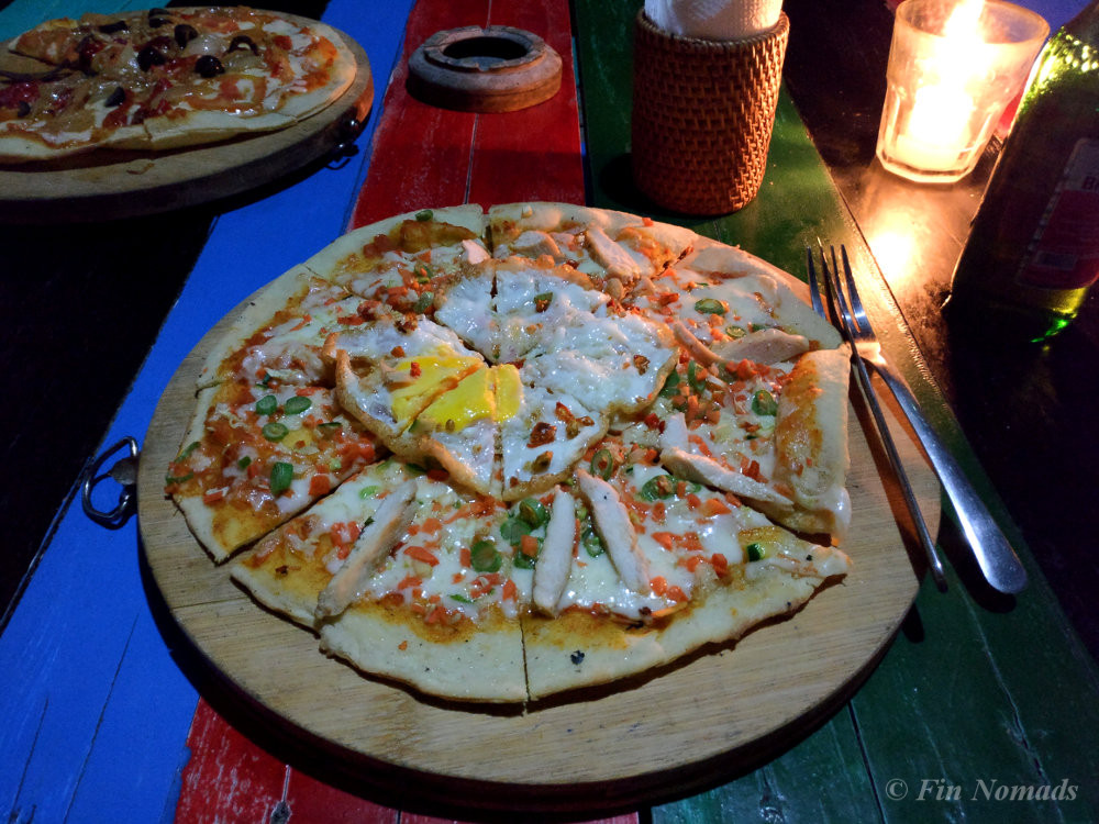 Pura vida pizza Gili Air