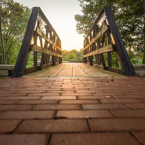 Homecoming Countdown: Three Days! One of the best parts of coming back to Valpo is visiting our historic landmarks. Stop by one of Valpo's most historic and romantic spots while back on campus — the kissing bridge!