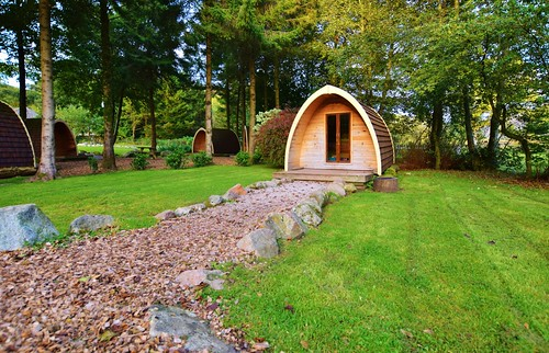 Eskdale campsite Lake District - camping pods