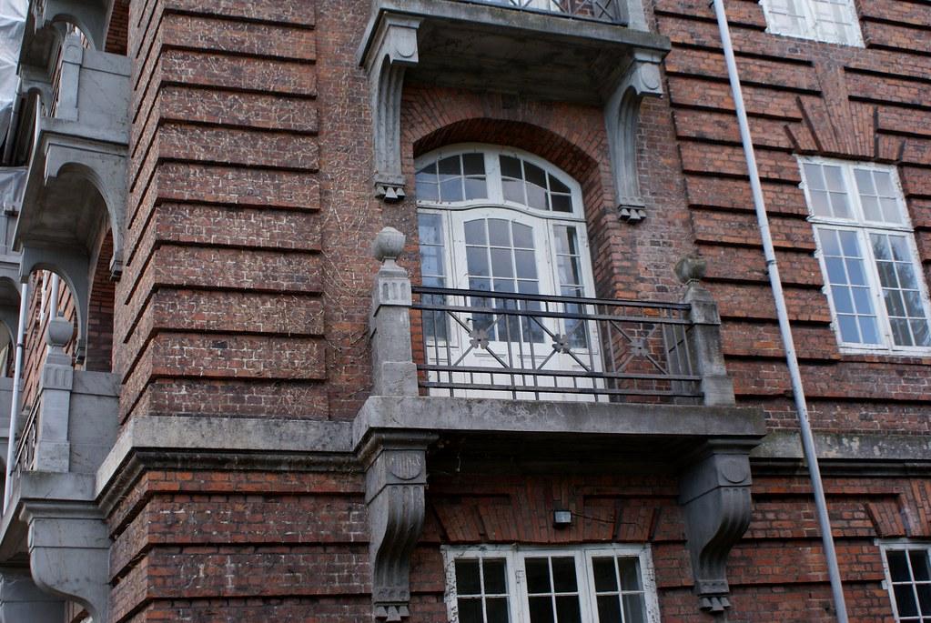 Immeuble résidentiel dans le quartier de Frederiksberg à Copenhague.