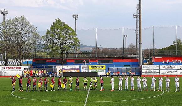 Virtus Verona-Este 3-2: gol ed emozioni ma la festa è rossoblu!