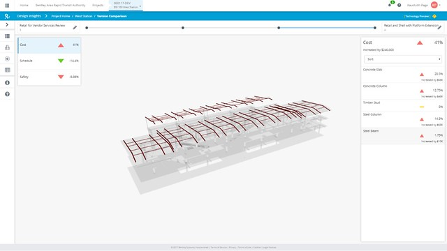 PNA_15_Bentley's New Cloud Services Offers Instant Insight on the Impact of Structural Design Changes on Project Schedule, Cost, and Safety (3)
