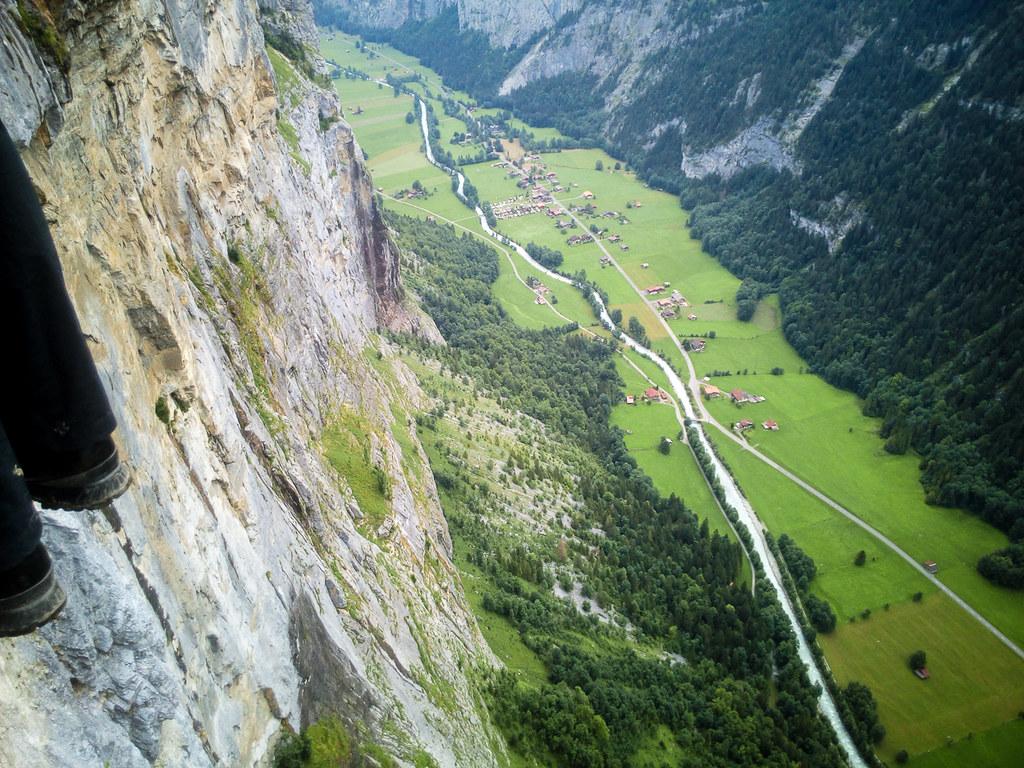 Klettersteig Lauterbrunnen : Klettersteig sulzfluh pany tourismus das gemütliche