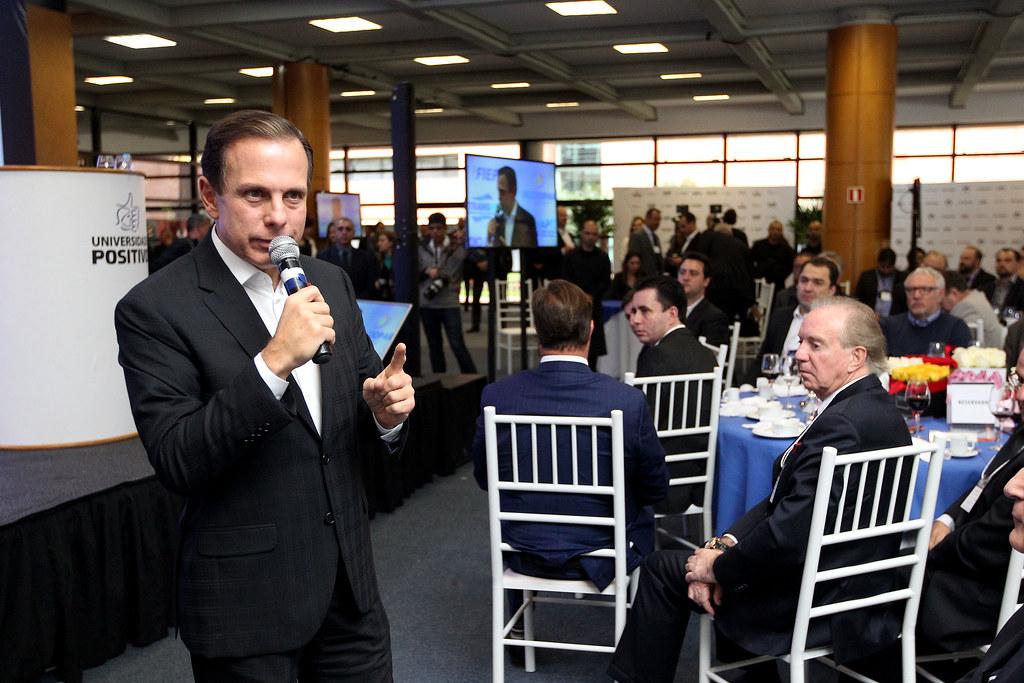 Encontro das lideranças empresariais do Paraná com João Dória Júnior