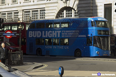 Wrightbus NRM NBFL - LTZ 1286 - LT286 - Bud Light - Deptford Bridge 453 - Go Ahead London - London 2017 - Steven Gray - IMG_5693