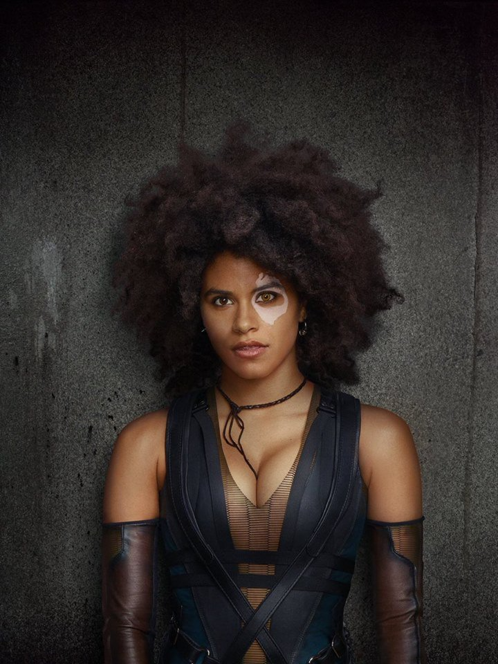 Zazie Beetz DOMINO Deadpool2 01