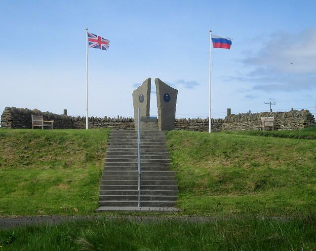 Arctic Convoy Memorial, Lyness, Hoy, Orkney