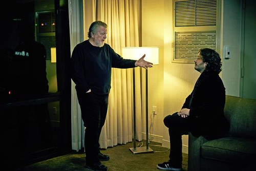 Walter Hill and Edgar Wright