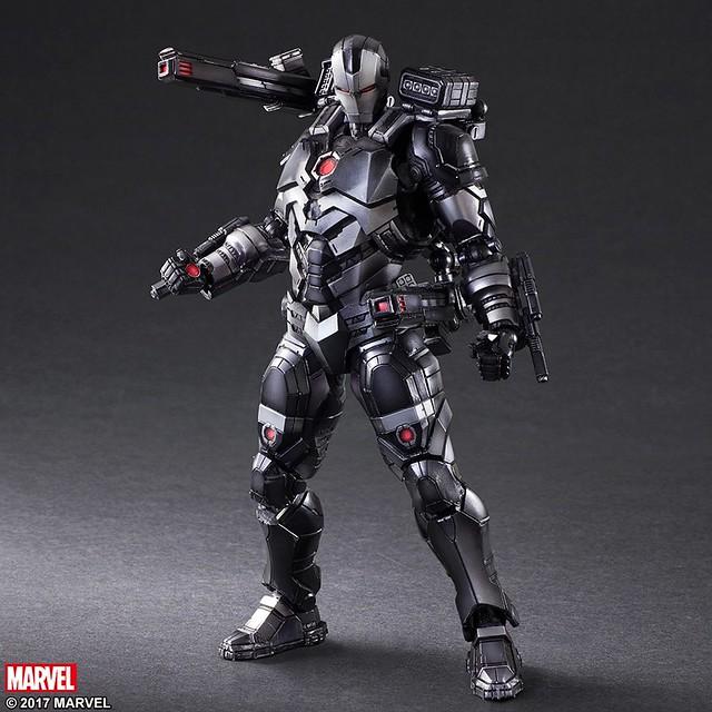 鋼鐵人最忠實的戰友!VARIANT PLAY ARTS改『Marvel Universe』變體版【戰爭機器(WAR MACHINE)】