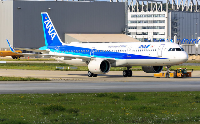 Airbus A321neo ANA JA131A