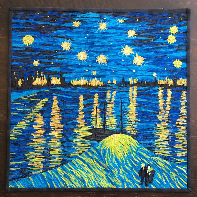 Van Gogh: finished