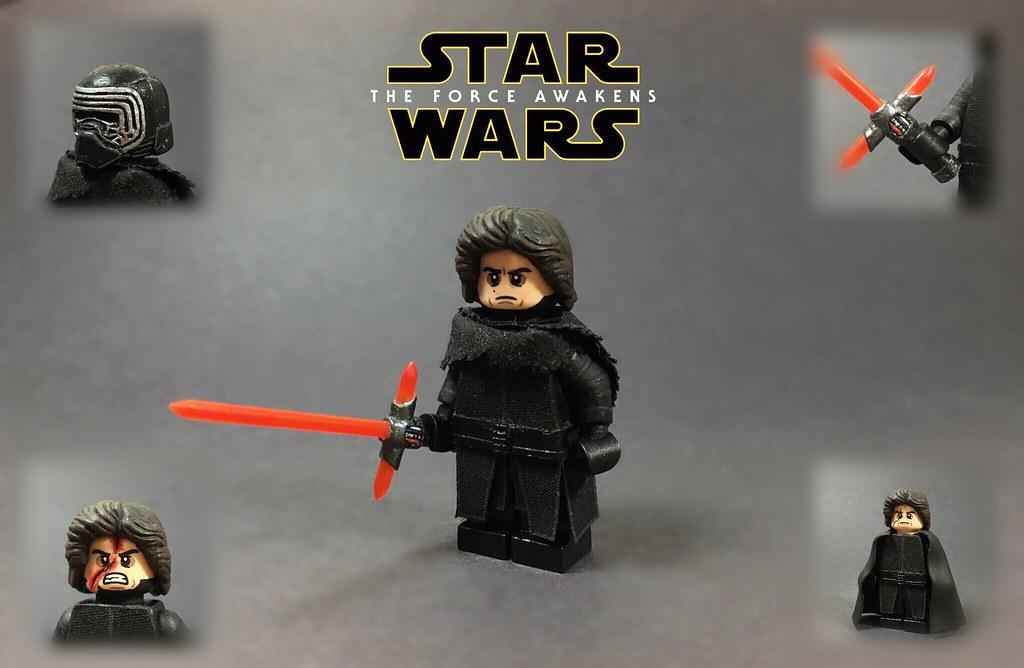 Genuine lego star wars Finn figurine porte-clés