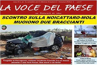 Noicattaro. Prima pagina n. 30-2017 front