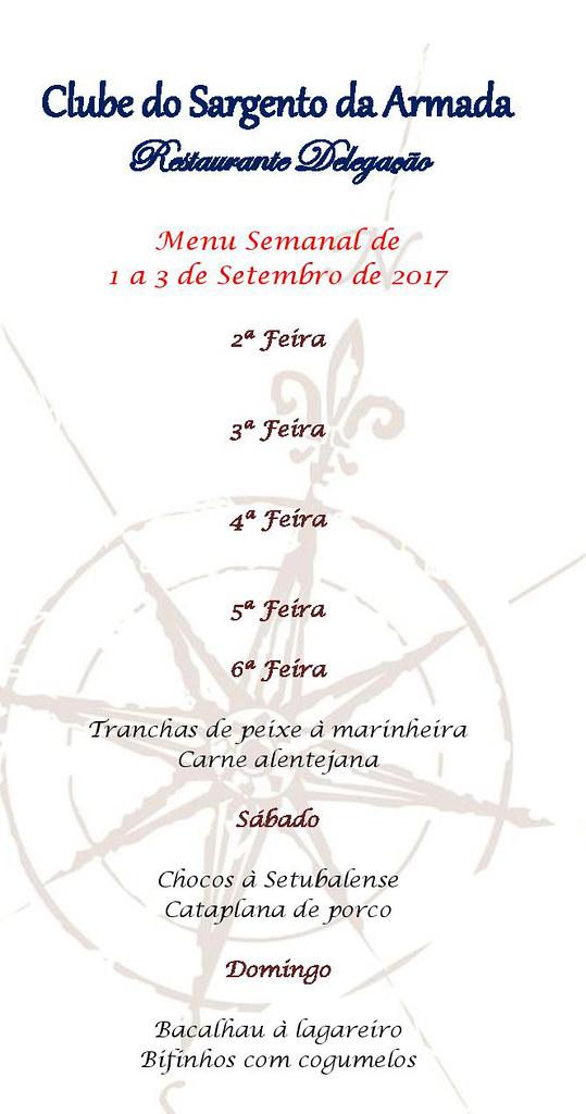 31 - EMENTA DE 1 Á 3 DE SETEMBRO
