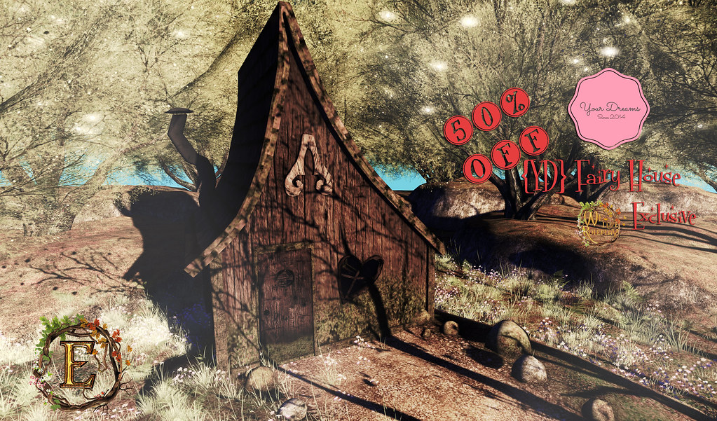 {YD} Fairy House ♥ - SecondLifeHub.com