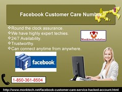 Why should Facebook users dial Facebook Customer Care Number 1-850-361-8504?
