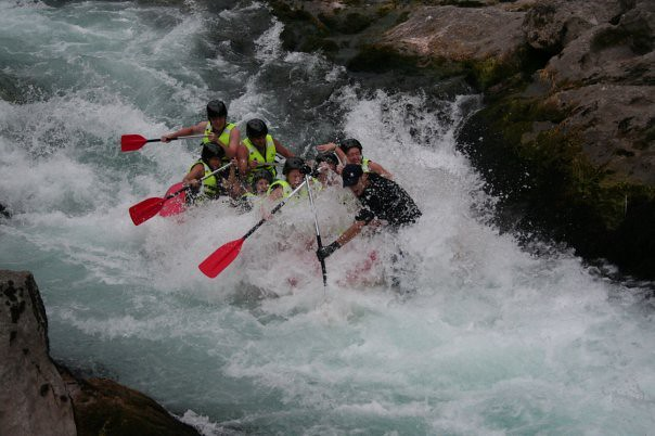 Rafting on the Neretva river gives full package
