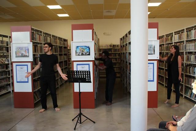 Murales Biblioteca San Pellegrino