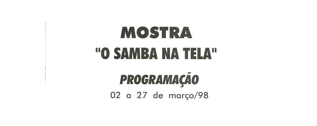 O Samba na Tela