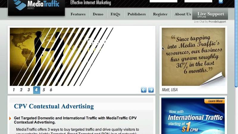 CPV format advertising
